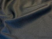Ткань костюмная  стрейч Хлопок Пике (черный)