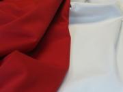 Ткань костюмная  стрейч Хлопок Пике красный