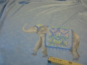 Ткань костюмная Купон 180 см ( два слона )